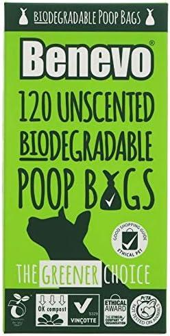 Benevo - Bolsas biodegradables para Caca (120 Bolsas): Amazon.es ...