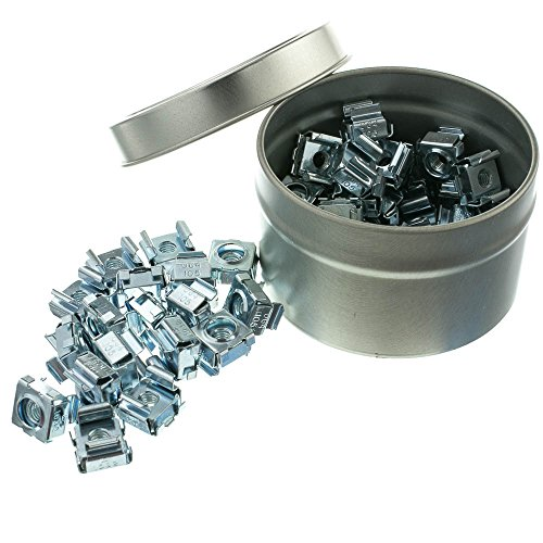 10-32 Cage Nuts, 50 Pieces