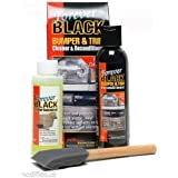 Forever BLACK 010 Kit Trim Molding Fender & Bumper Dye Complete Kit