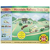 Melissa & Doug Mountain Tunnel Train Set (English Only)