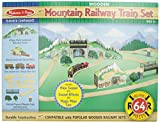 Best Wooden Train Sets - Melissa & Doug Mountain Tunnel Train Set Review