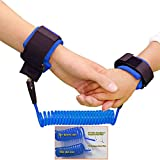 NALATI Kids Walking Hand Belt baby Anti lost safty wrist link (Blue)