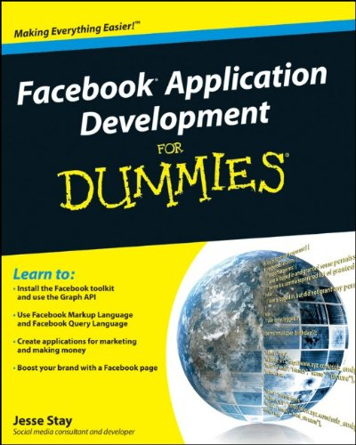 [PDF] Facebook Application Development For Dummies Free Download | Publisher : For Dummies | Category : Computers & Internet | ISBN 10 : 0470768738 | ISBN 13 : 9780470768730