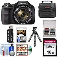 Sony Cyber-Shot DSC-H300 Digital Camera with 16GB Card +...