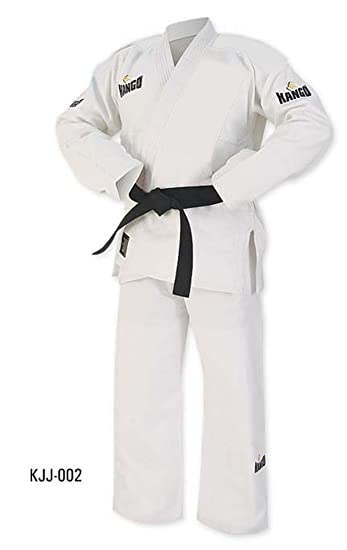 Kango Fitness Brazilian Jiu Jitsu Uniform//Gi Premium Blank with Free White Belt