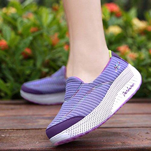 Solshine Solshine pour femme Baskets Violet Violet Baskets OqPUwxdFU