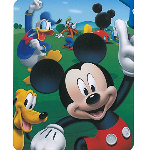 (Mickey Mouse - Playhouse 40x50 Mink Style Blanket in Gift)