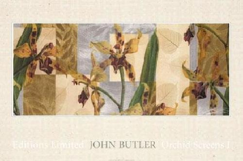 John Butler - Orchid Screens I LAST ONES IN INVENTORY!!