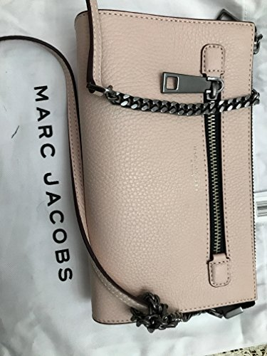 Marc Jacobs Small Leather Crossbody Bag Pale Pink