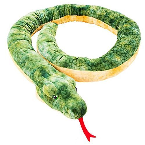 - Rhode Island Novelty Giant Anaconda Snake Plush Toy 100