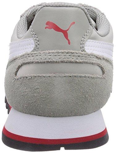 Puma ST Runner NL - zapatilla deportiva de material sintético unisex Gris (Limestone Grey/White/Grey Violet)