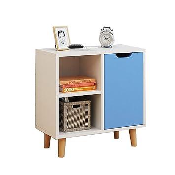 Amazon.de: Tnosky Modern Holz Nachttisch einfach Nachttisch ...