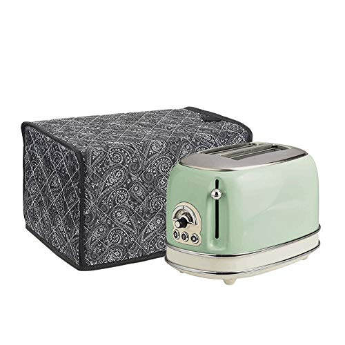 2-Slice Toaster Covers, Polyester/Cotton Quilted Two Slice Toaster Appliance Cover, Kitchen Toaster Cover Appliance 2 Slice, Dust and Fingerprint Protection
