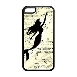 CreateDesigned The Little Mermaid Disney Princess Ariel Case Cover for iPhone 5C (Cheap iPhone 5) SKU-I5CCD00167