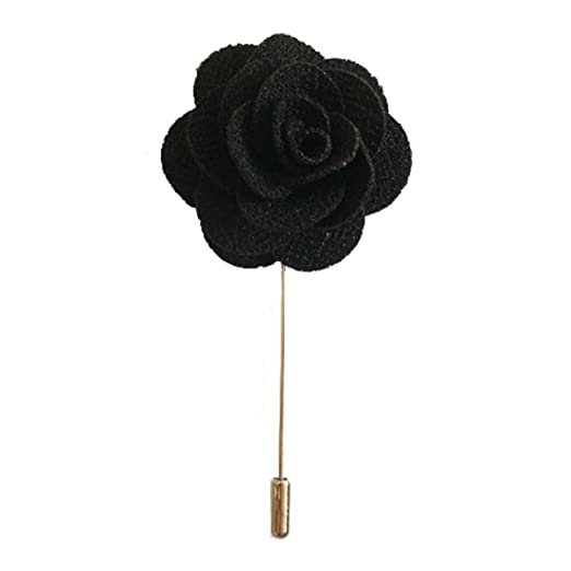 Amazon sunny home mens lapel flower stick brooch pin sunny home mens lapel flower stick brooch pin boutonniere pin for suit tuxedo corsage 374 mightylinksfo