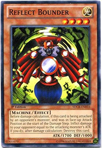 Yu-Gi-Oh! - Reflect Bounder (SDCR-EN016) - Structure Deck: Cyber Dragon Revolution - 1st Edition - Common