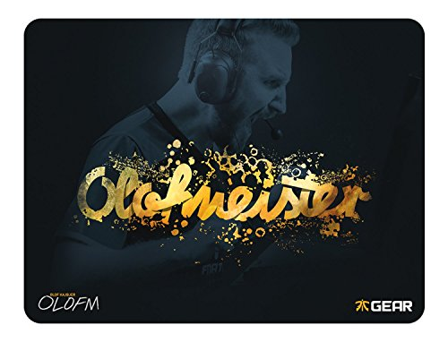 Fnatic Gear Focus Olofmeister Edition Pro Gaming Mouse Pad (size XXL, Cloth) - 19.2 x 14.6 x 0.2 Inches