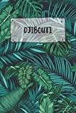 Djibouti: Ruled Travel Diary Notebook or Journey  Journal - Lined Trip Pocketbook for Men and Women with Lines
