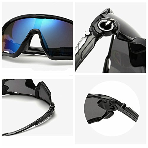 Polarized cycling sunglasse Sports cycling glasses Reflective Sports Men Sunglasses Road Cycling Glasses Bike Goggles Outdoor Sports Bicycle Sunglasses UV400 #85635