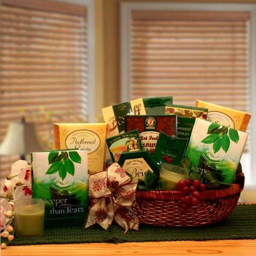 Sympathy Basket Deeper Than Tears Sympathy Gift Basket