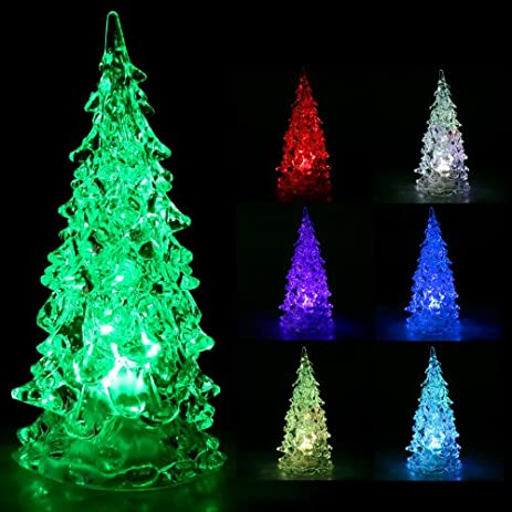 rgb colorful led christmas tree christmas decoration night light by toogoor - Rgb Led Christmas Lights