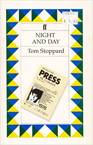 Night And Day Tom Stoppard 9780571113736 Amazon Books