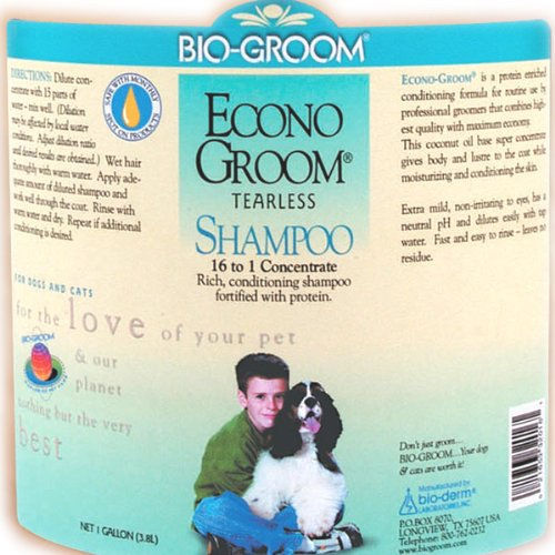 Bio-Groom Econo-Groom Dog and Cat Shampoo, 1-Gallon, Packaging May Vary by Bio-groom (Image #1)