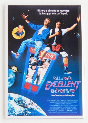 Bill & Ted's Excellent Adventure Fridge Magnet ()
