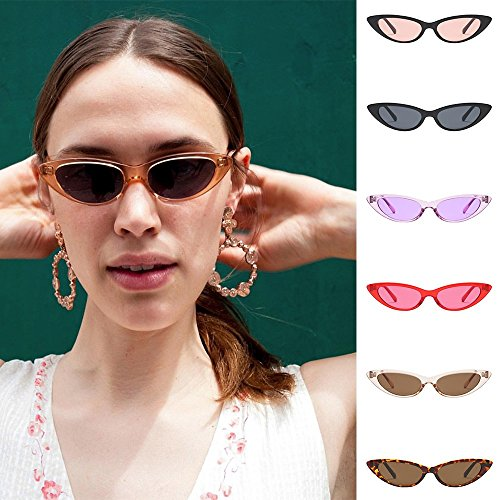 Donna C Polarizzate Uv400 Uomo Retrò Vintage Occhi Da Moda Gatto Occhiali Sole 1qwPExf