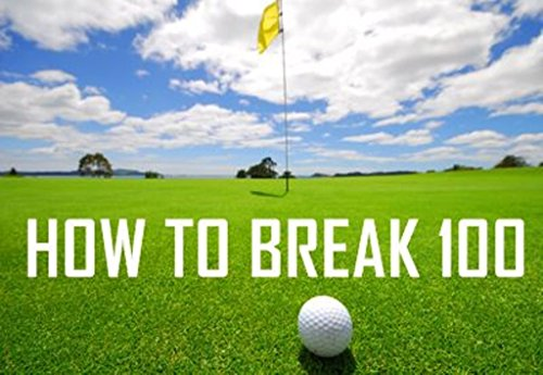 Interactive CD ROM Video Golf Lessons by PGA Pro 'How To Break 100' Video Coaching - FIX Club & Iron SWING, Putting Hints, Tips Professional Tricks