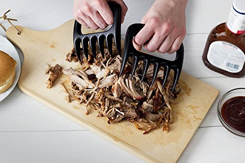 Bear Paws Shredder Claws,STRONG AND SHARP Meat Shredder Claws, Shred, Pull, Carve, Handle and Transfer Food Quickly, Safely and with Ease Using Premium Quality Shredding Forks. A Must For The BBQ Prof