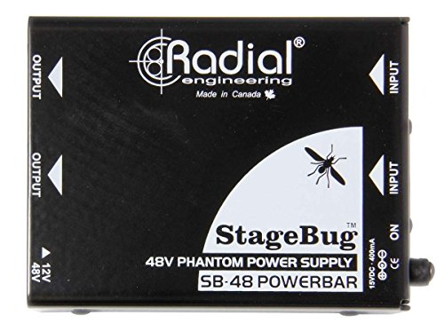 Radial Two ChannelSB-48 Stagebug Phantom Power Supply by Radial Engineering