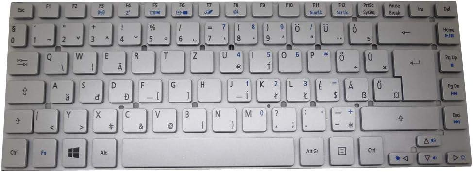 Laptop Keyboard for Acer Aspire V3-431 V3-471 V3-471G V121646CK4 HG AEZQS401110 NK.I141S.01A Silver NO Frame