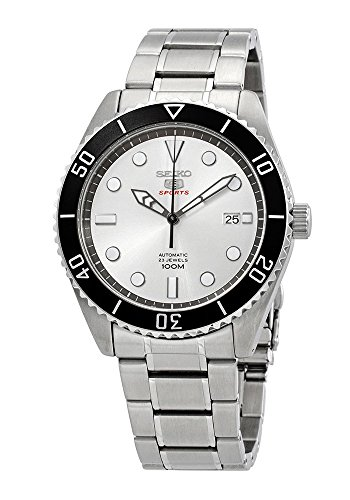 (Seiko Mens Analogue Automatic Watch with Stainless Steel Strap SRPB87K1)
