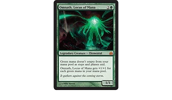 Amazoncom Magic The Gathering Omnath Locus Of Mana From The