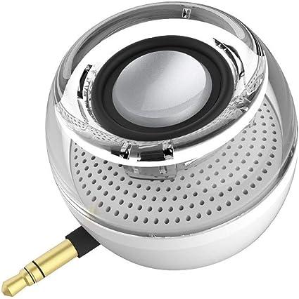 Mini Lautsprecher Tragbarer Reise Musik Mp3 Mobile Aufladbare 3.5mm USB Schwarz