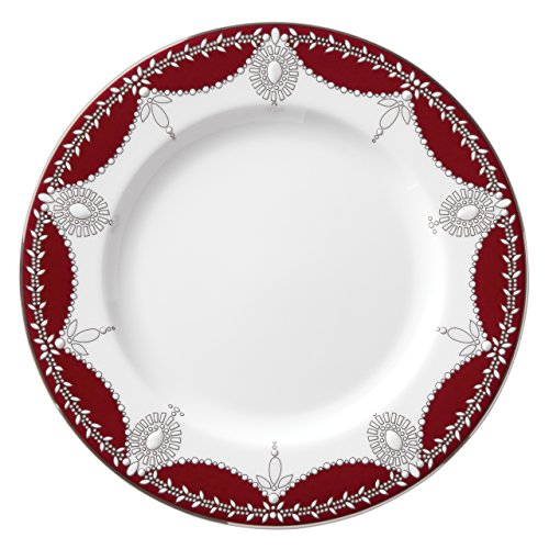 Lenox Marchesa Empire Pearl Salad Plate, Wine ()
