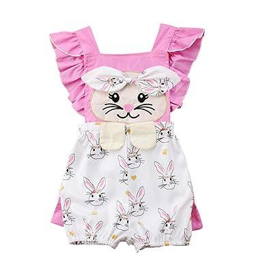 95fd50db2e96d Infant Baby Girls Summer Romper Bodysuit Boys Jumpsuit Outfit Playsuit  Clothes Clothing