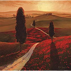 Tuscany by Thomas McGrath Art Print, 12 x 12 inches