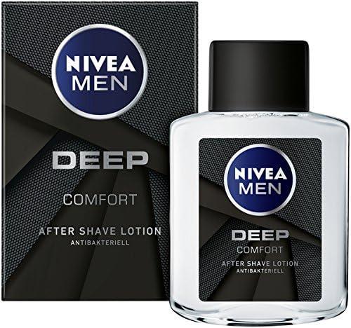 Nivea Men Aftershave con fórmula antibacteriano, Deep, 6 pack (6 x ...