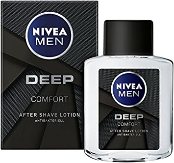 Nivea Men Aftershave con fórmula antibacteriano, Deep, 6 pack (6 x ...