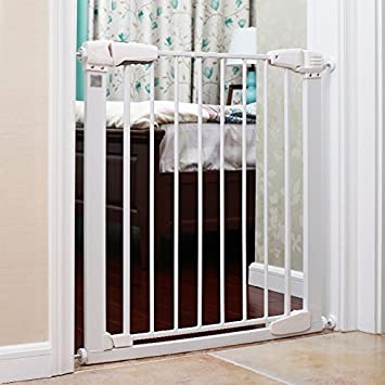 Amazon Com Baby Child Safety Gate Baby Stair Barrier Automatic