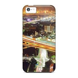 [bTYRpTf127ymbIu] - New Dejctr 112 City Night Road Flow Tokyo Protective Iphone 5c Classic Hardshell Case