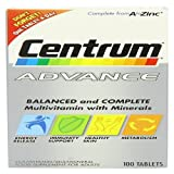 Centrum Advance (100 Tablets)