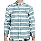 WOSHUAI Mens Button Down T-Shirts Long Sleeve