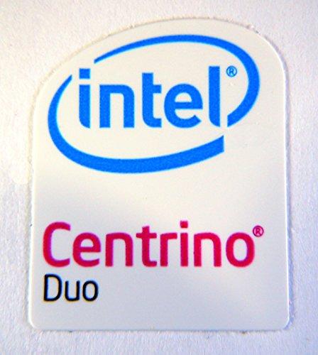 Original Intel Centrino Duo Sticker 16x 20mm [43]