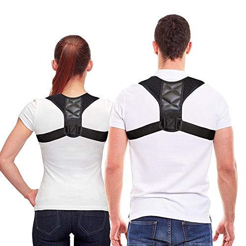 Invisible Shoulder Posture Strap for Men & Women | Effective Shoulder Corrector for Posture Brace | Discreet Clavicle Posture Support