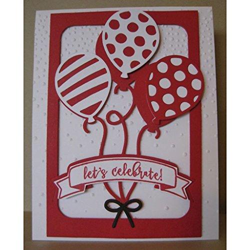 Yeahii Balloon Cutting Dies Stencil DIY Scrapbooking Embossing Album Paper Card Crafts by Yeahii (Image #4)