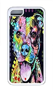 Lmf DIY phone caseAmerican Bulldog Custom ipod touch 4 Case Cover TPU WhiteLmf DIY phone case