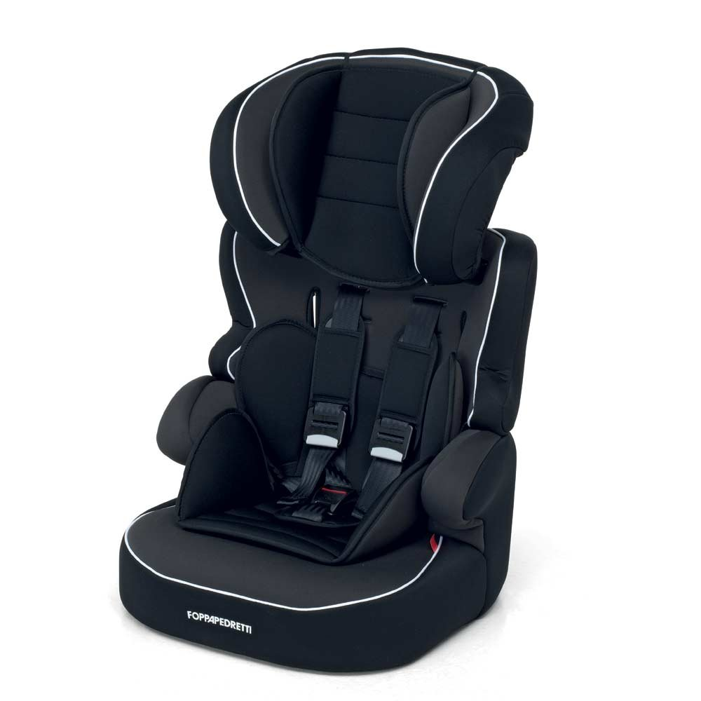 Foppapedretti Babyroad Seggiolino Auto, Gruppo 1/2/3 (9-36kg), per Bambini da 9 mesi fino a 12 Anni circa, Nero Foppapedretti S.p.A. 9700327100